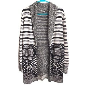 URBAN OUTFITTERS Ecote mixed print cardigan M